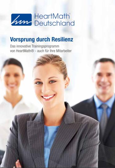 Resilienz als Grundbaustein gesunder Unternehmen und Ressourcenmanagement!